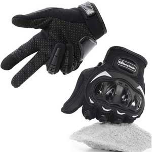 Más guantes de moteros